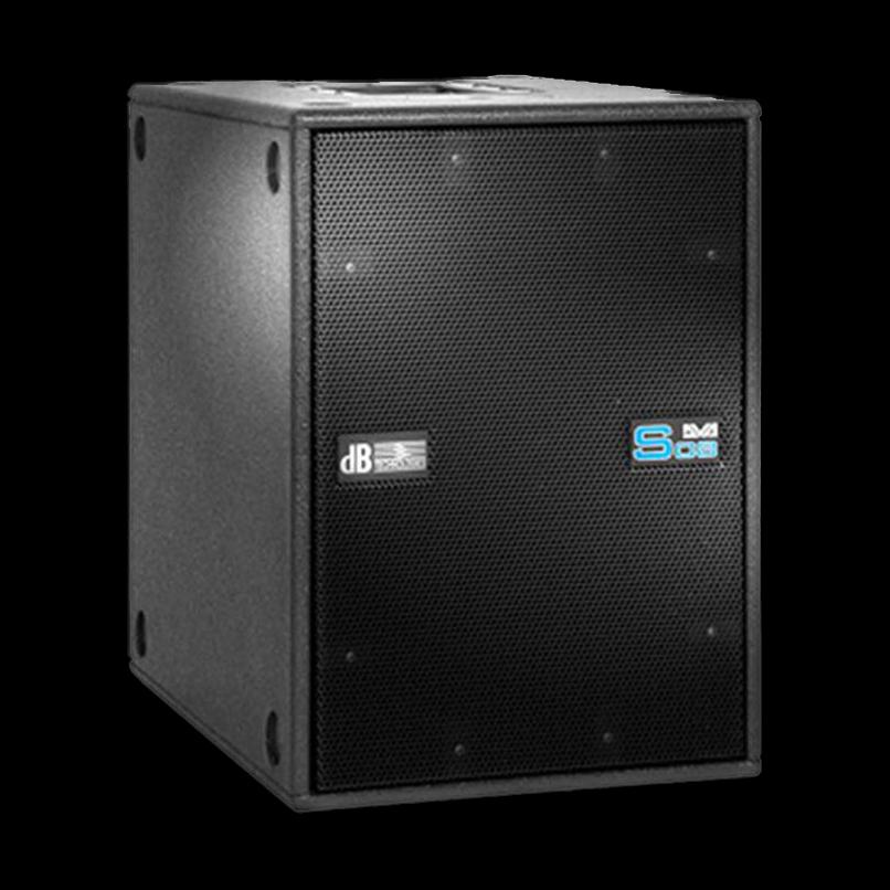 db technologies dva s08 luidsprekerhoes grille boven baseline