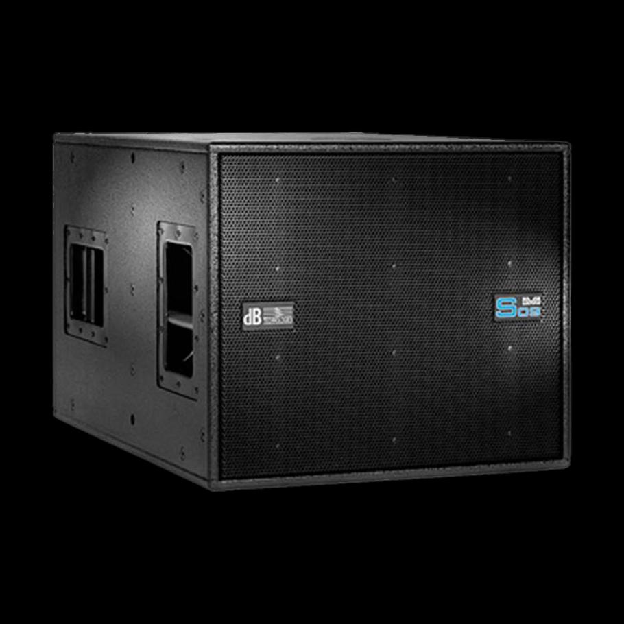 db technologies dva s09 luidsprekerhoes zonder rigging grille boven strongline
