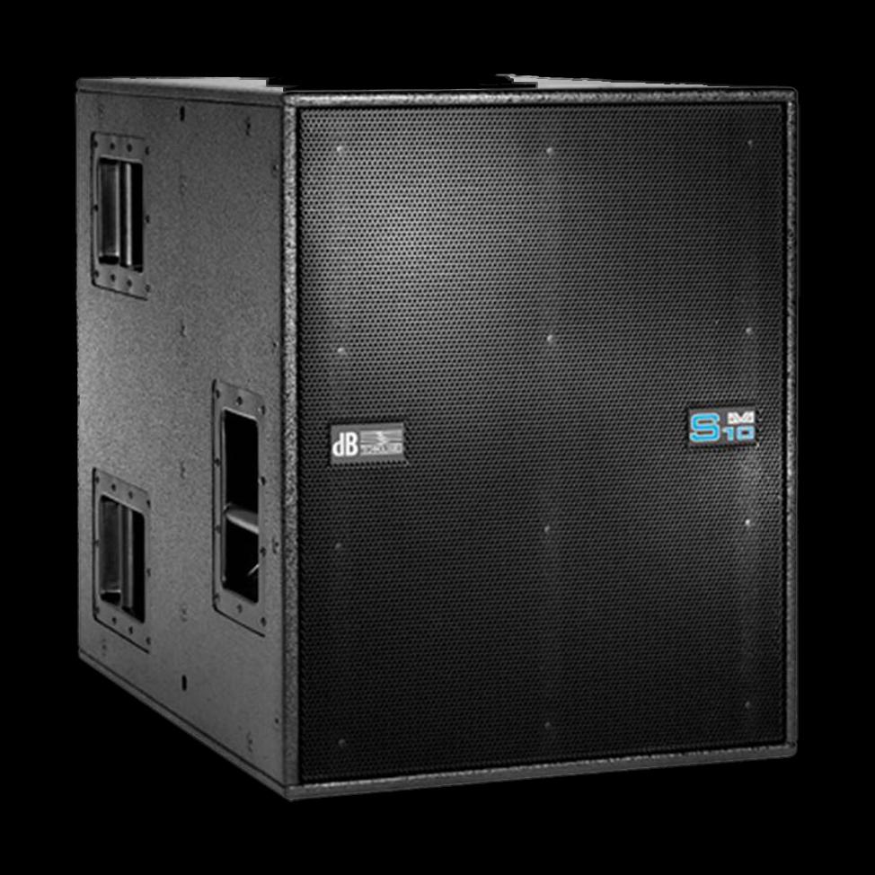 db technologies dva s10 luidsprekerhoes met rigging grille boven baseline