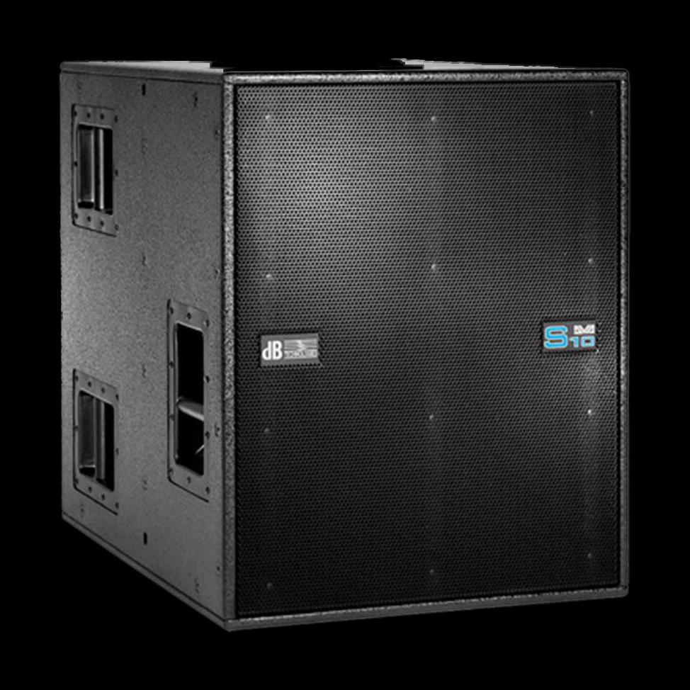 db technologies dva s10 luidsprekerhoes zonder rigging grille boven baseline