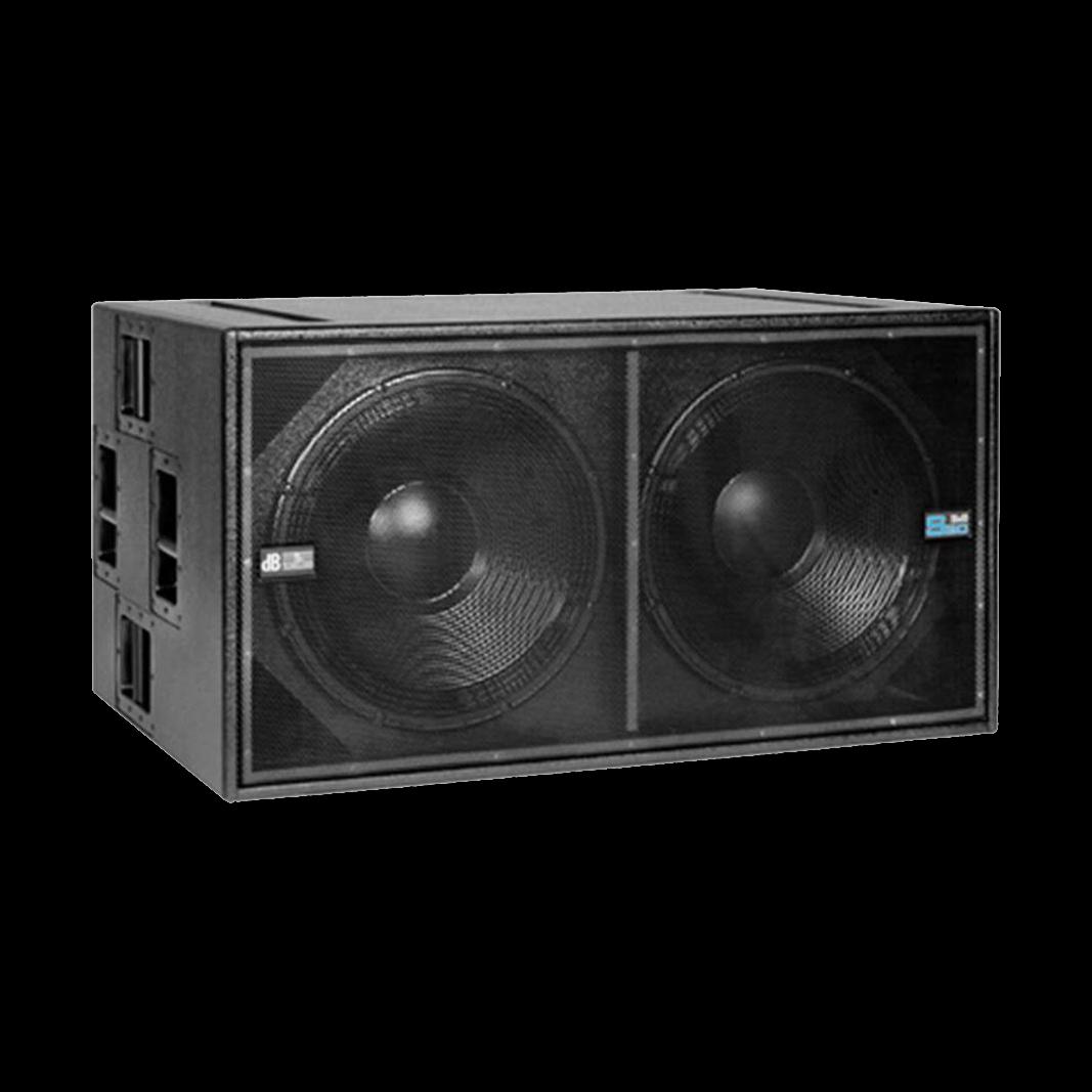 db technologies dva s30 luidsprekerhoes grille boven baseline