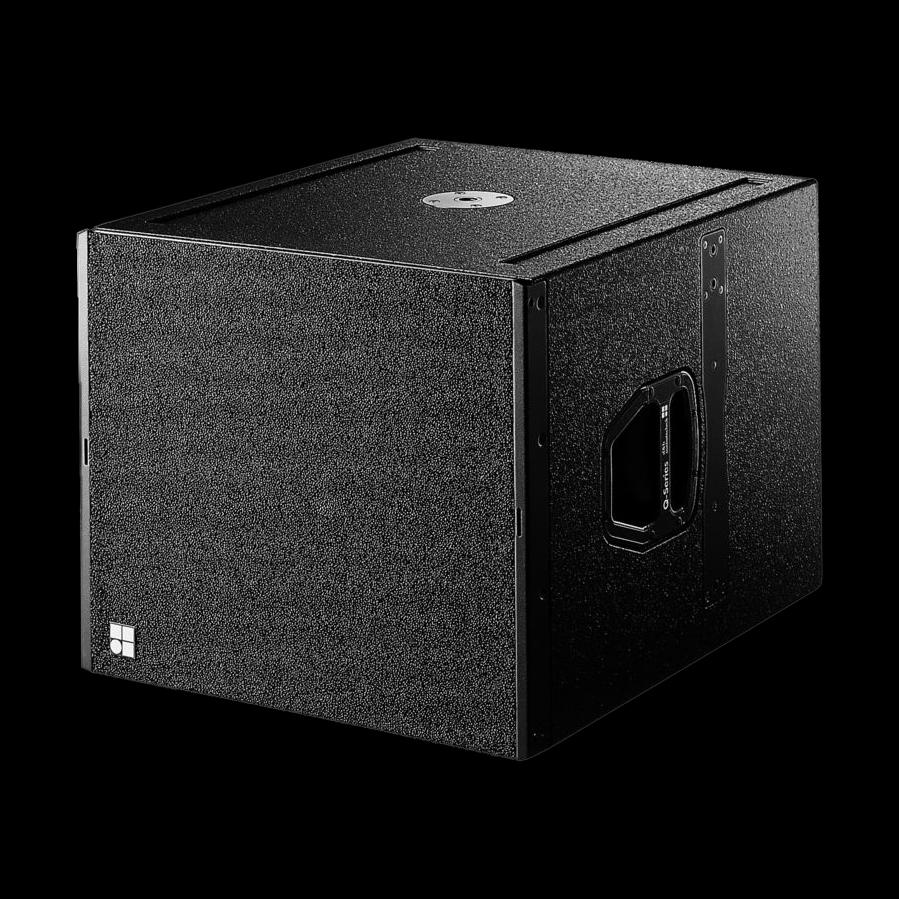 dampb audiotechnik qsub grille boven luidsprekerhoes baseline