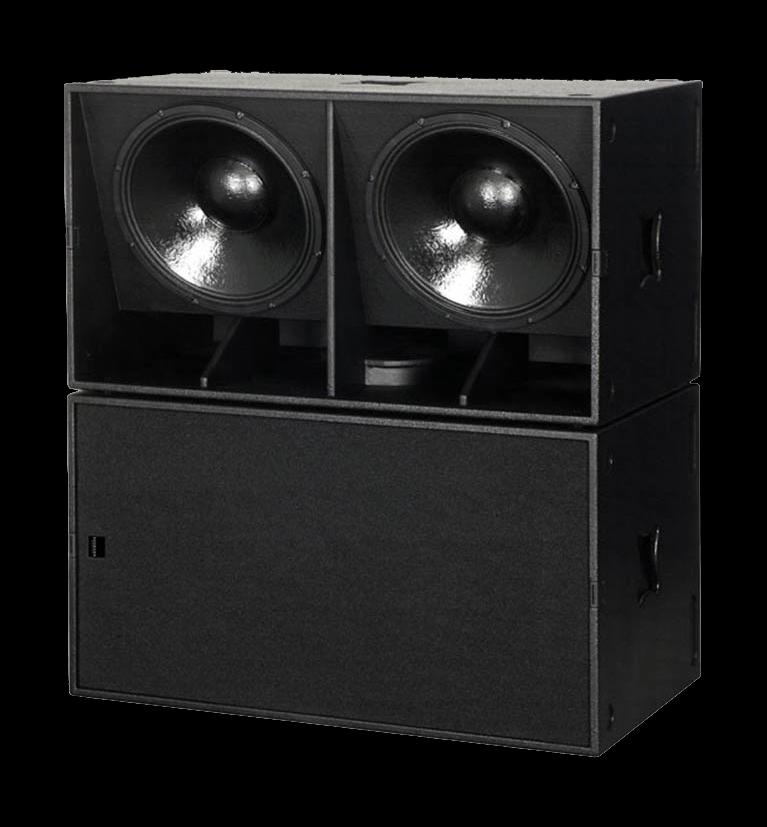 acoustic line b1801 luidsprekerhoes grille boven baseline