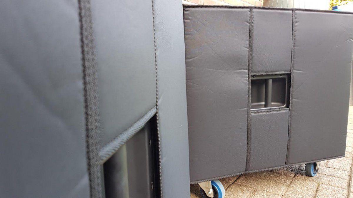 dap high grade x18 b luidsprekerhoes grille boven baseline