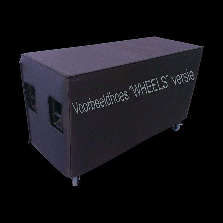 electrovoice tourx tx1181 luidsprekerhoes baseline met wielen op de achterkant