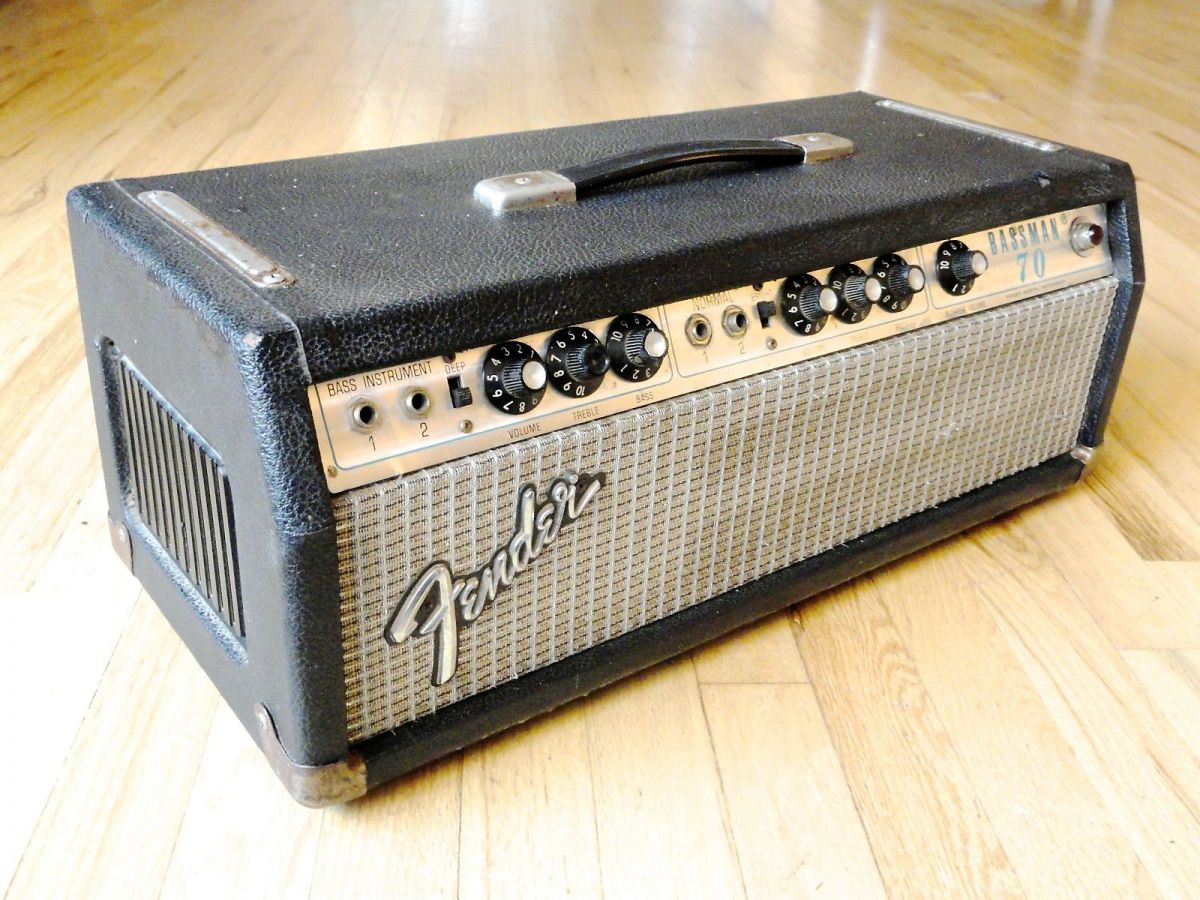 fender bassman 70 head hoes