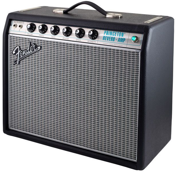 fender princeton 68 reissue silverface hoes