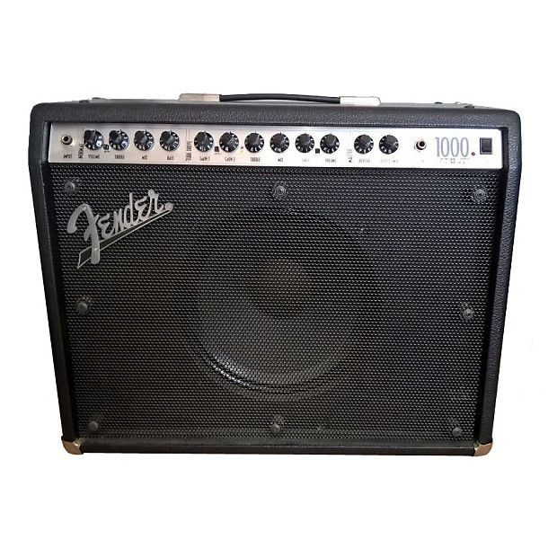 fender rocpro 1000 1x12 combo hoes