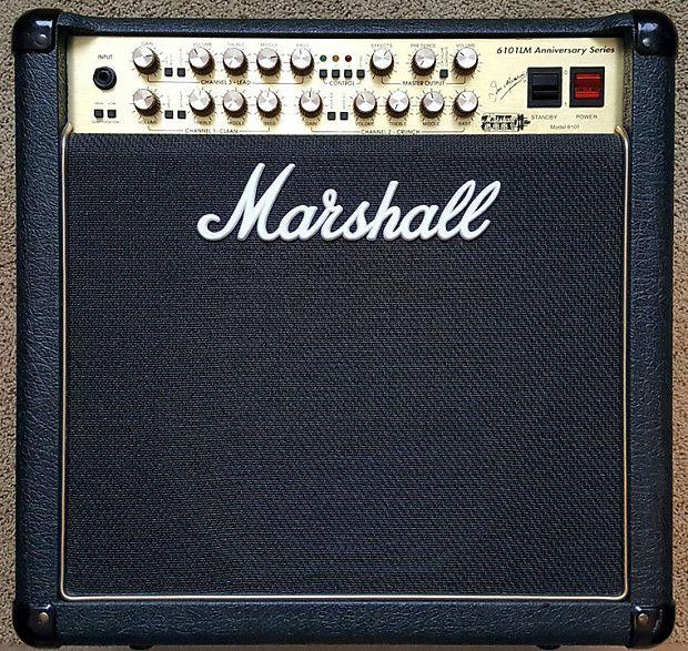 marshall 6100 1x12 combo hoes