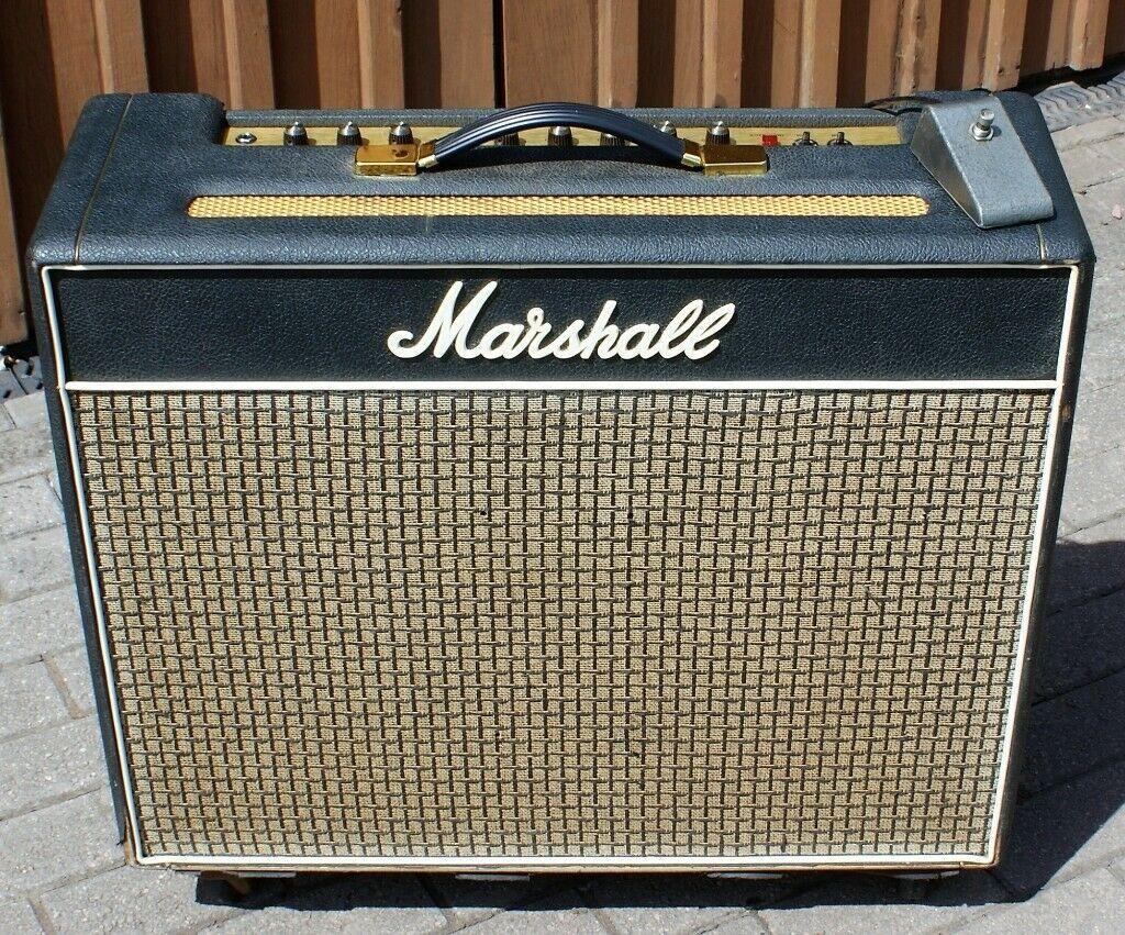 marshall bluesbreaker 2x12 combo hoes
