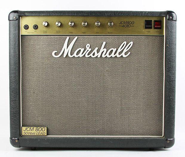 marshall jcm800 1x12 combo hoes