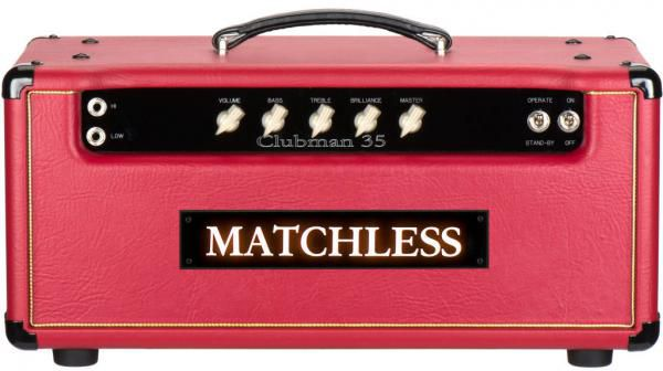 matchless clubman reverb head hoes