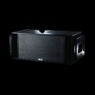 nexo rs rs15 grille boven met vliegbumpers luidsprekerhoes baseline